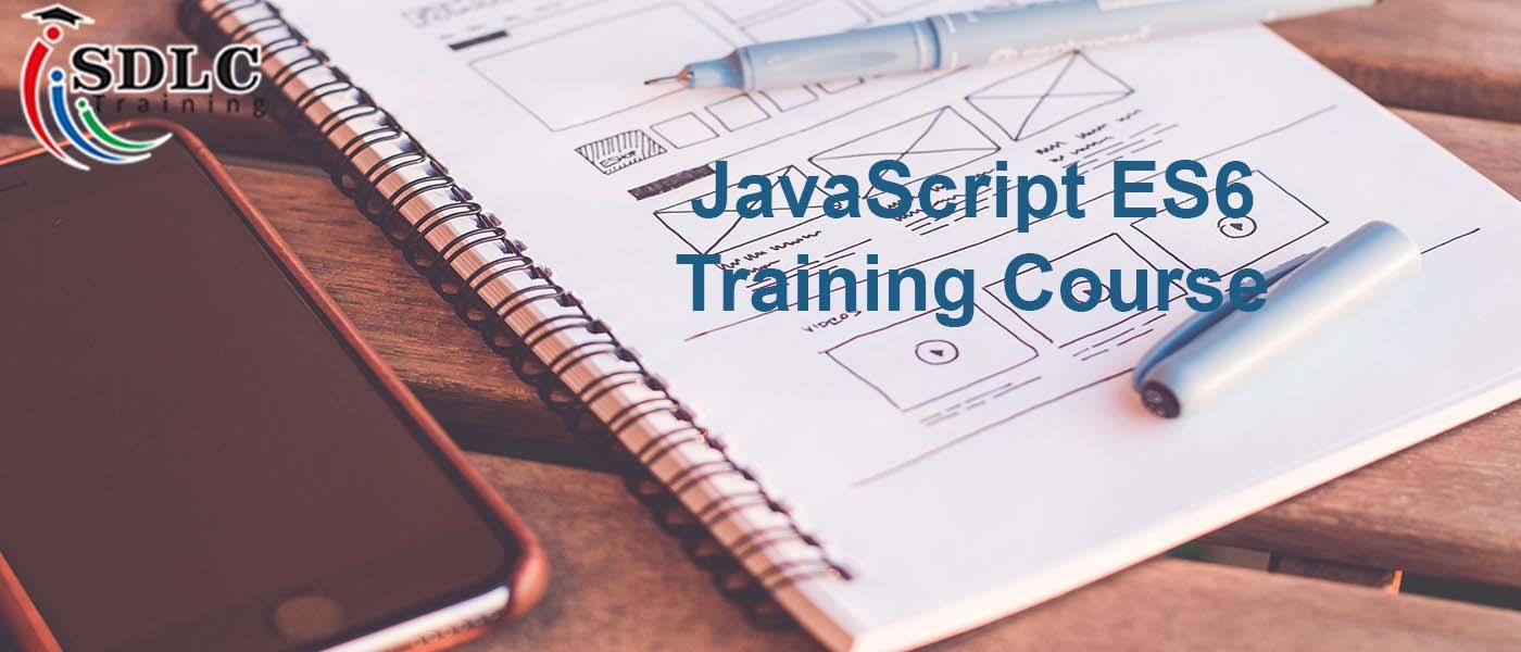 javascript es6 training course banner
