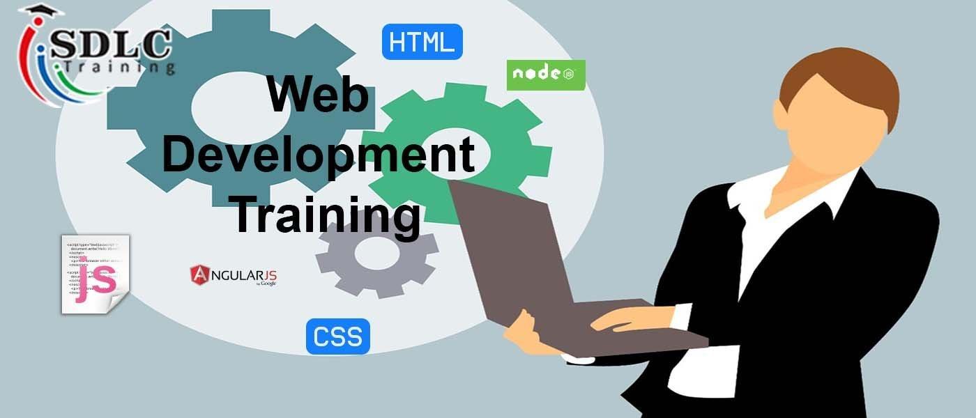 web development training course banner
